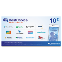10 € BestChoice Entertainment