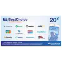 BestChoice Entertainment 20,–