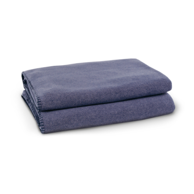 zoeppritz Soft-Fleece®-Decke – Indigo